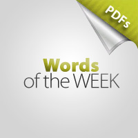 Words of the Week: AUGUST - Responsibility