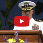 CDR Hung Cao Commanding Officer's speech from last year's graduation.